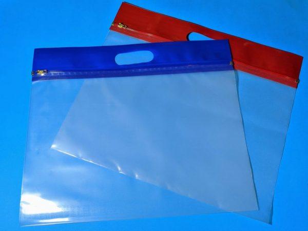 folio zipper bags cellobags